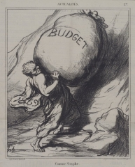Comme Sisyphe by Honore Daumier (Brooklyn Museum)